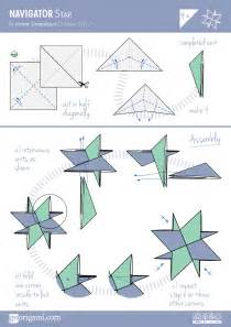Origami Patterns Pdf - origami navigator diagram hobby ideas