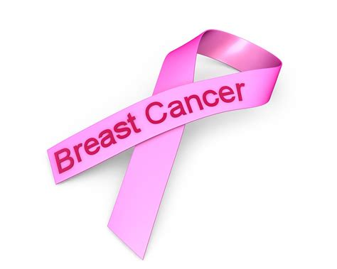 0914 Pink Ribbon For Breast Cancer Awareness Stock Photo Powerpoint Presentation On Breast Cancer Awareness