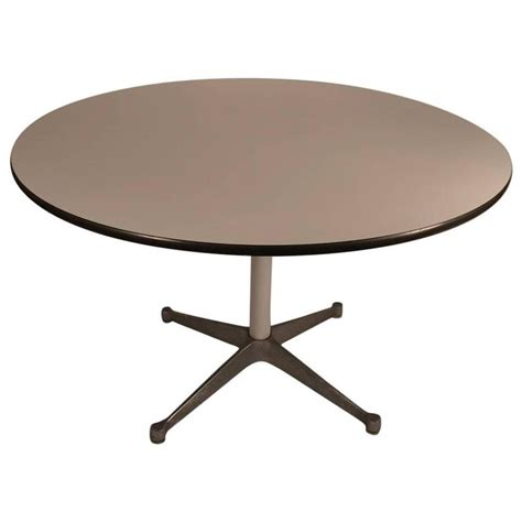 laminate dining room tables eames laminate top herman miller dining table at 1stdibs