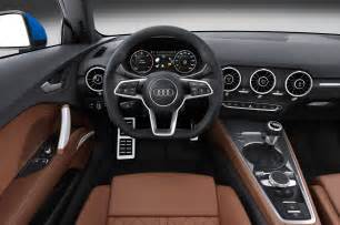 2016 Audi Tt Interior 2016 Audi Tt Tts Coupe Photos Revealed Before Geneva