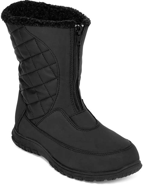 totes stephen womens cold weather boots shopstyle
