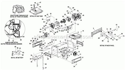 generac gp5500 wiring diagram wiring diagram and