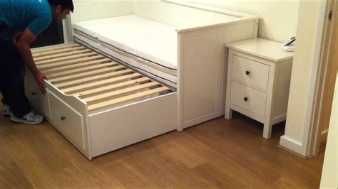 Daybed With Trundle And Storage Ikea Hemnes Day Bed Trundle Guest Bed Stolmen Storage Doovi