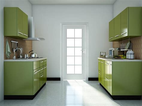 Small Parallel Kitchen Design Modular Kitchen Designs