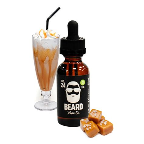 Beard 24 Salted Caramel no 24 by beard vape co vapor4life