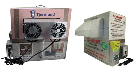 tjernlund products xchanger reversible basement fans model