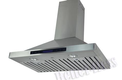 the range exhaust fan 30 quot wall mount stainless steel kitchen range vent