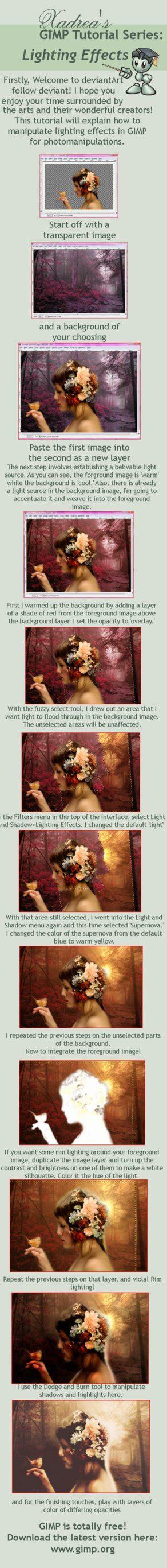 newsprint effect basics gimp by tgfcoder on deviantart gimp tutorial lighting effects by xadrea on deviantart