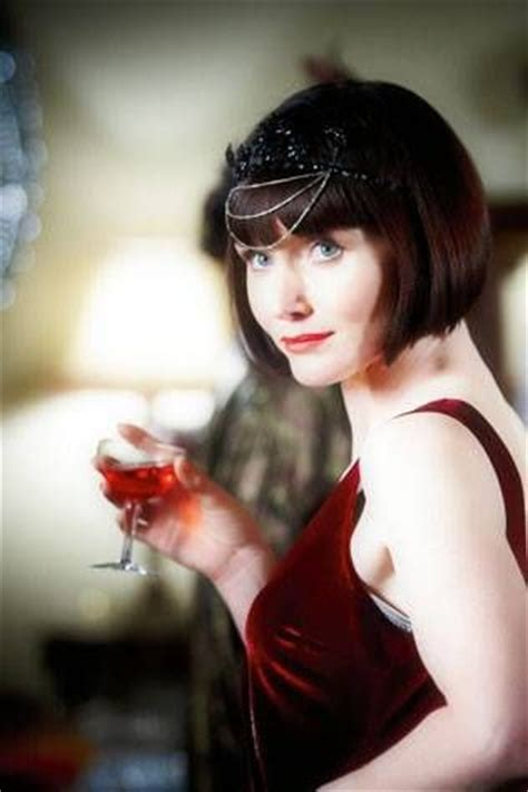 is that essie davis real hair on mrs fisher mysteries behind the set of miss fisher s murder mysteries with