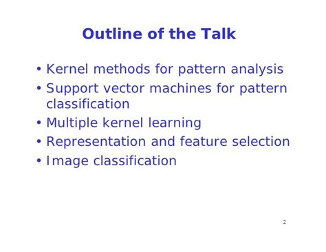 kernel pattern analysis multiple kernel learning based approach to representation