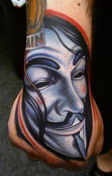 tatuaje m 225 scara v de venganza tatuajesxd