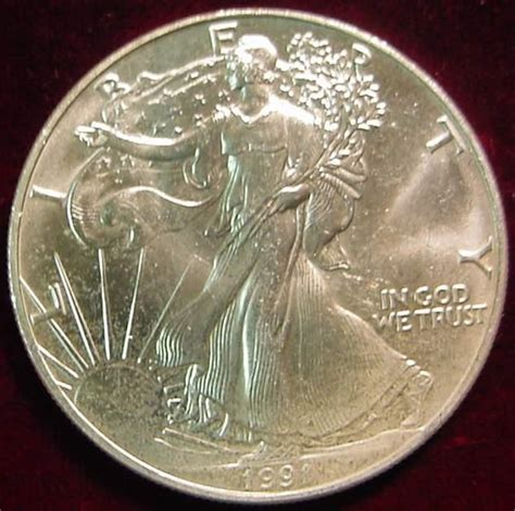 1991 american eagle 1 oz silver one dollar - 1 Oz Silver One Dollar 1991