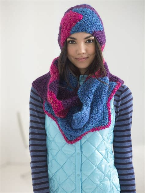 zig zag cowl crochet pattern zigzag hat and cowl crochet crochet and knitting
