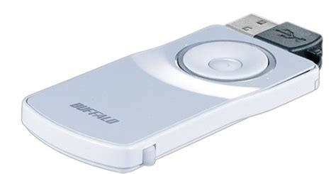Optical Mini Mouse With Built In Flash Memory by Buffalo 800dpi Optical Mini Mouse Acquire