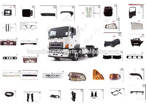 Sparepart Hino for 700 hino truck spare parts buy hino truck spare parts product on alibaba