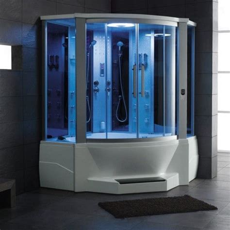 steam shower with bathtub ariel 701 steam shower with whirlpool bathtub is the