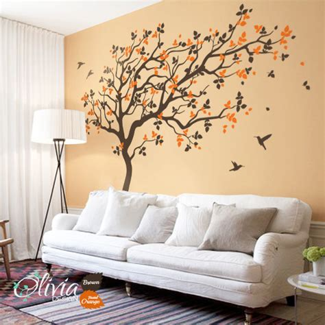 Large Wall Decals For Nursery Large Tree Wall Decals Nursery Wall Decor Wall Mural Stickers