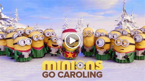 minions sing jingle bells  greet   merry christmas geekpinas   philippines