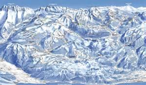 plan des pistes de ski les portes du soleil