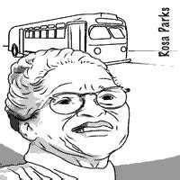 black history month rosa parks coloring page 1000 images about rosa parks on pinterest rosa parks