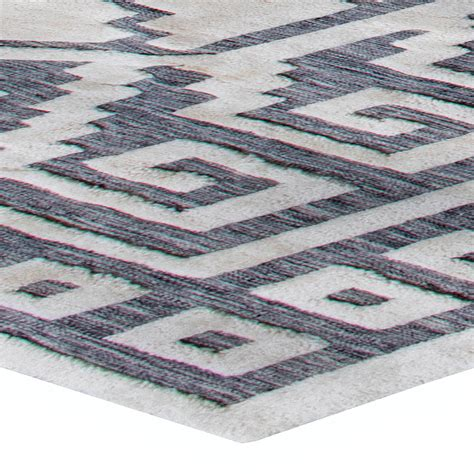 Swedish Half Pile Rug N11337 By Doris Leslie Blau Half Rug