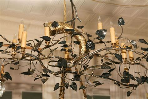 Tree Branch Chandeliers An Original Sculpture Tree Branch Chandelier By Lou Blass At 1stdibs