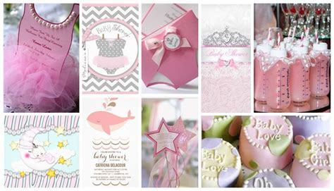 cute themes for a baby girl cute baby shower themes baby shower decoration ideas
