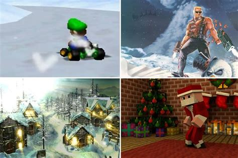 christmas in video game land take a look at the most