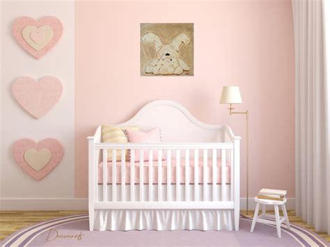 Formidable Chambre De Bebe Mixte #7: tableau-enfant-bebe-ours-ourson-en-peluche-pirouette-beige-taupe-marron-fille-garcon-mixte-decoration-sf-peint-a-la-main-chambre-rose2.jpeg