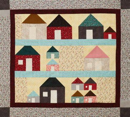 House Quilt Blocks Free by House Block Quilt Patterns Allpeoplequilt