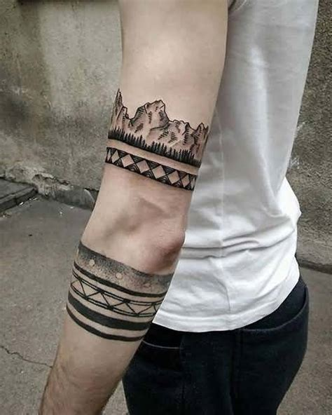 arm tattoos for black men awesome band arm tattoos with black ink color for