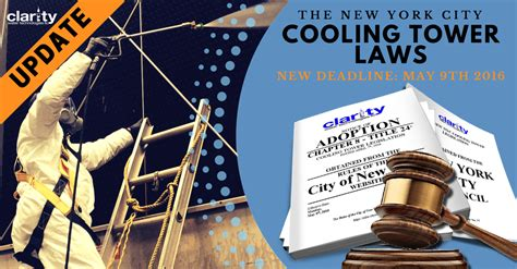 blog about new water laws water treatment blog new york cooling tower law