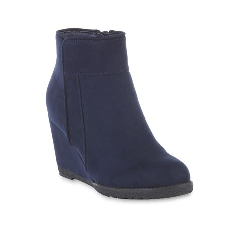 womens navy blue boots river blues s wedge boot navy blue