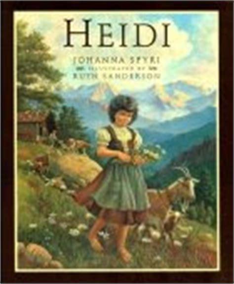 heidi picture book childhood favourites reading challenge heidi by johanna spyri