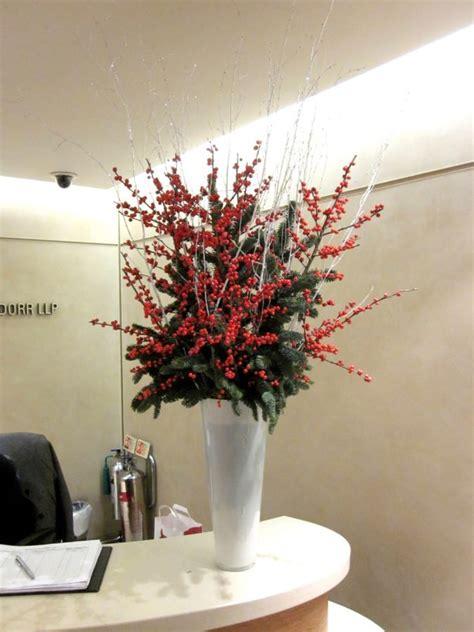 christmas flower arrangement flowers  flourish