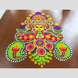 Rangoli Designs With Flowers And Colours   700 x 525 jpeg 95kB