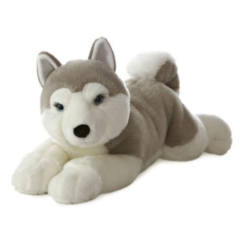 stuffed husky yukon the jumbo stuffed husky flopsie by