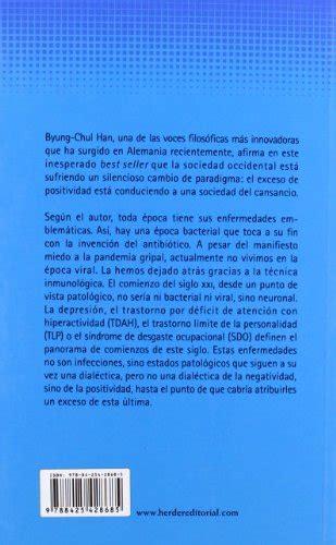 libro la sociedad del cansancio libro la sociedad del cansancio di byung chul han