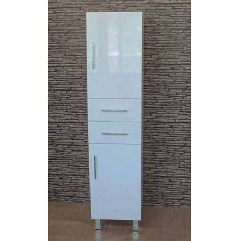 bathroom tall boys euro tall boy 350 350x300x1700mm high gloss white