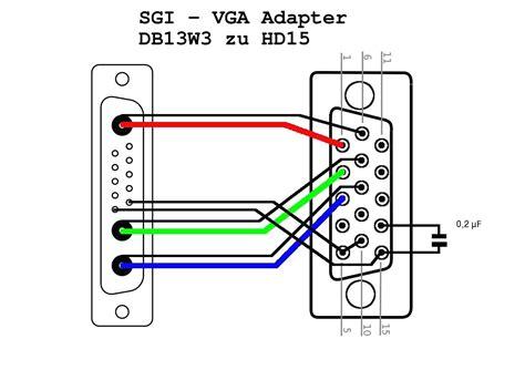 av to vga wire diagram av to vga converter circuit diagram