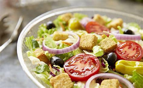 famous house salad lunch dinner menu olive