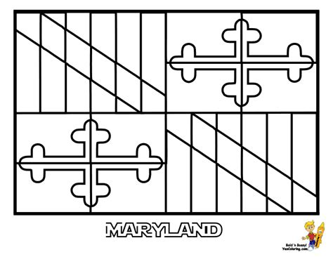 Confessions Of A Glitter Addict April 2013 Maryland Coloring Pages