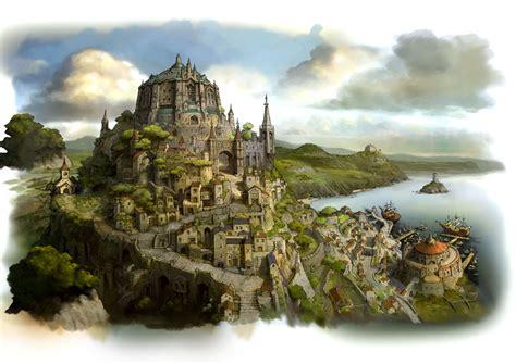 wallpaper abyss fantasy city fantasy castle wallpaper background 1280 x 905 id