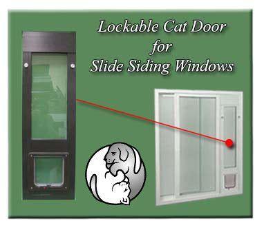 Cat Doors For Windows Decor Sliding Windows Popular And Pets On Pinterest