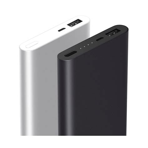 xiaomi power bank 10000mah 2nd generation original silver jakartanotebook