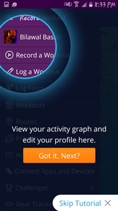 map my walk app map my walk app review android