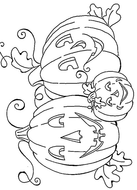 spooky pumpkin coloring pages scary pumpkin coloring pages images