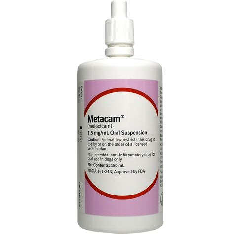 metacam for dogs metacam 1 5 mg ml for dogs 180ml