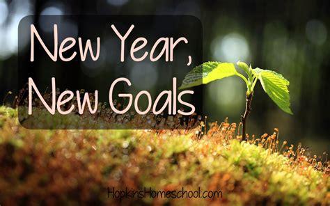 new year new goals hopkins homeschool