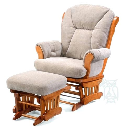 rocking chair and ottoman cushions stork rocking chair motilee com